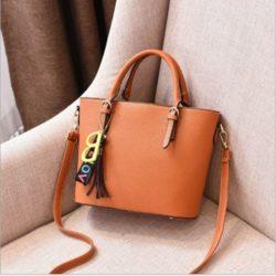 JT8860-brown Tas Handbag Wanita Stylish Kekinian