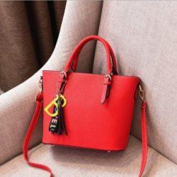 JT8860-red Tas Handbag Wanita Stylish Kekinian
