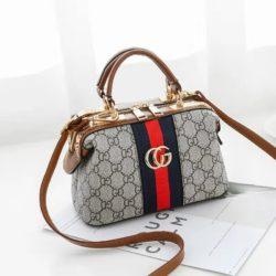 JT8870-brown Doctor Bag Fashion Import Elegan