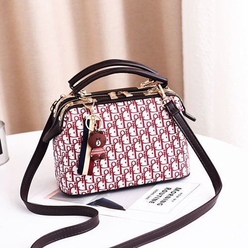 JT88765 IDR.180.000 MATERIAL PU SIZE L18XH19XW6CM WEIGHT 700GR COLOR RED