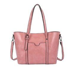 JT888-pink Tas Selempang Kulit Elegan Terbaru