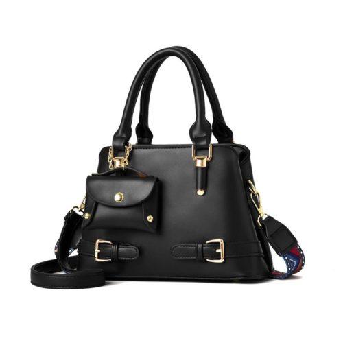 JT889-black Tas Handbag Selempang Wanita Elegan Kekinian Import