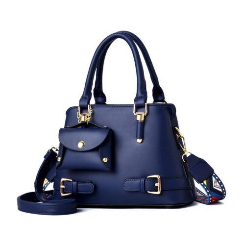 JT889-blue Tas Handbag Selempang Wanita Elegan Kekinian Import