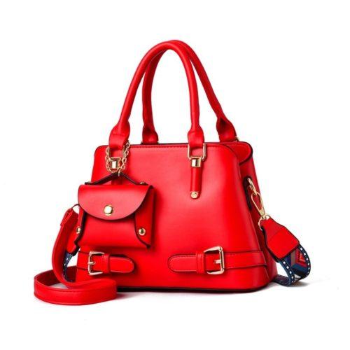 JT889-red Tas Handbag Selempang Wanita Elegan Kekinian Import