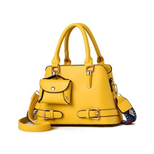 JT889-yellow Tas Handbag Selempang Wanita Elegan Kekinian Import