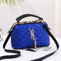 JT88963-blue Doctor Bag Pesta Elegan Terbaru Import
