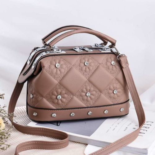 JT88969-khaki Tas Doctor Bag Fashion Import Wanita Cantik