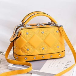 JT88969-yellow Tas Doctor Bag Fashion Import Wanita Cantik