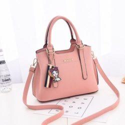 JT891-pink Tas Handbag Cantik Import Terbaru