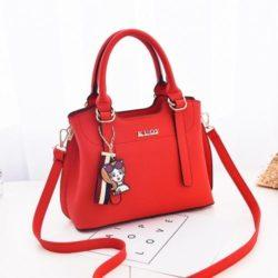 JT891-red Tas Handbag Cantik Import Terbaru