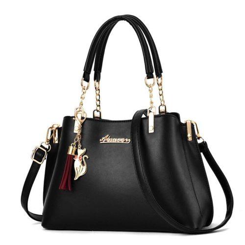 JT8916-black Tas Selempang Fashion Wanita Elegan Import