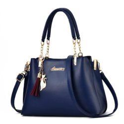 JT8916-blue Tas Selempang Fashion Wanita Elegan Import