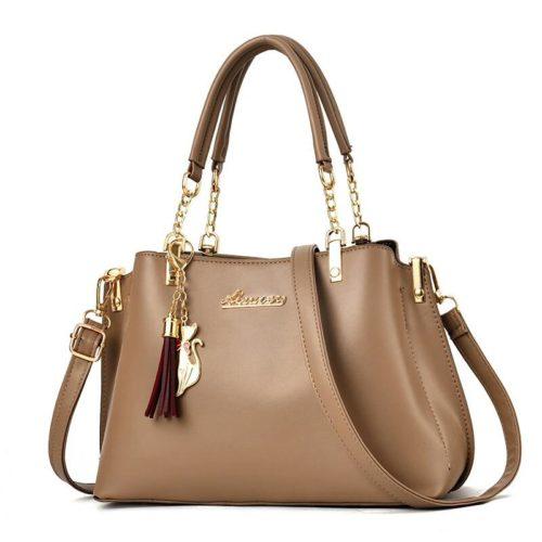 JT8916-khaki Tas Selempang Fashion Wanita Elegan Import
