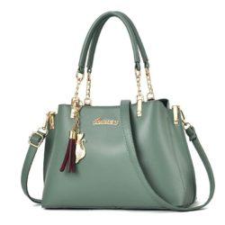 JT8916-lightgreen Tas Selempang Fashion Wanita Elegan Import