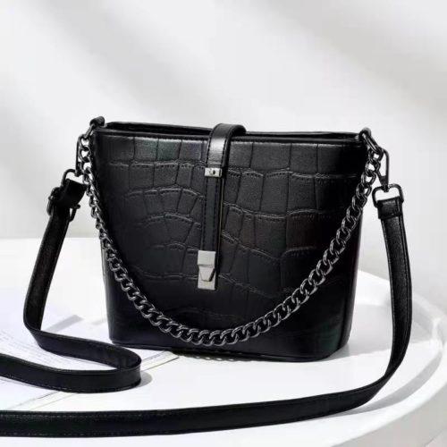 JT89971-black Tas Selempang Fashion Wanita Cantik Import Terbaru