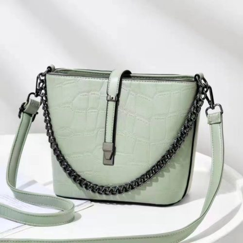 JT89971-green Tas Selempang Fashion Wanita Cantik Import Terbaru