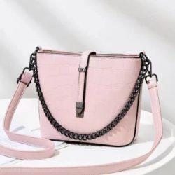 JT89971-lightpink Tas Selempang Fashion Wanita Cantik Import Terbaru