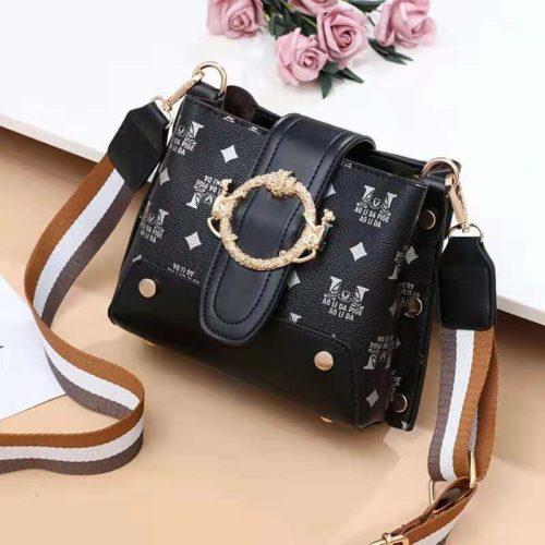 JT9008-black Tas Selempang Wanita Cantik Import Terbaru