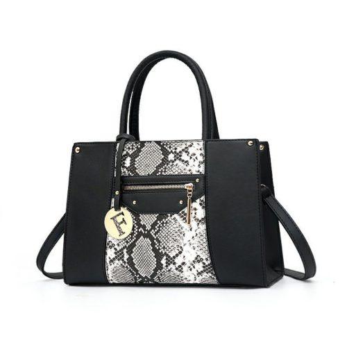 JT90180-black Tas Handbag Wanita Cantik Elegan Import