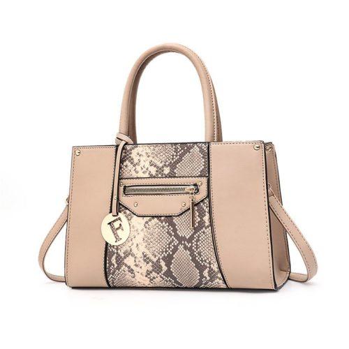 JT90180-khaki Tas Handbag Wanita Cantik Elegan Import