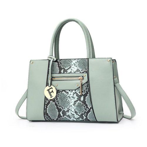 JT90180-lightgreen Tas Handbag Wanita Cantik Elegan Import