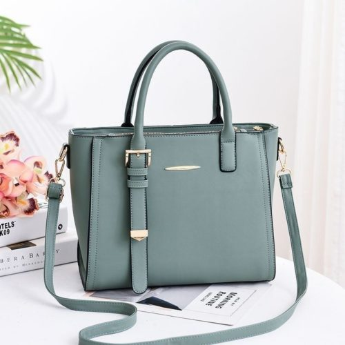 JT9019-green Tas Handbag Wanita Cantik Import Terbaru