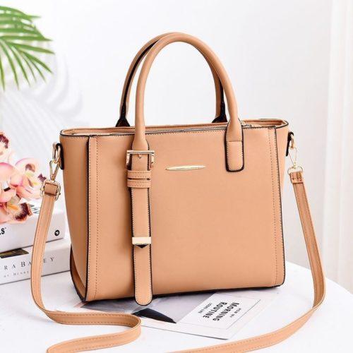 JT9019-khaki Tas Handbag Wanita Cantik Import Terbaru