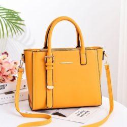 JT9019-yellow Tas Handbag Wanita Cantik Import Terbaru