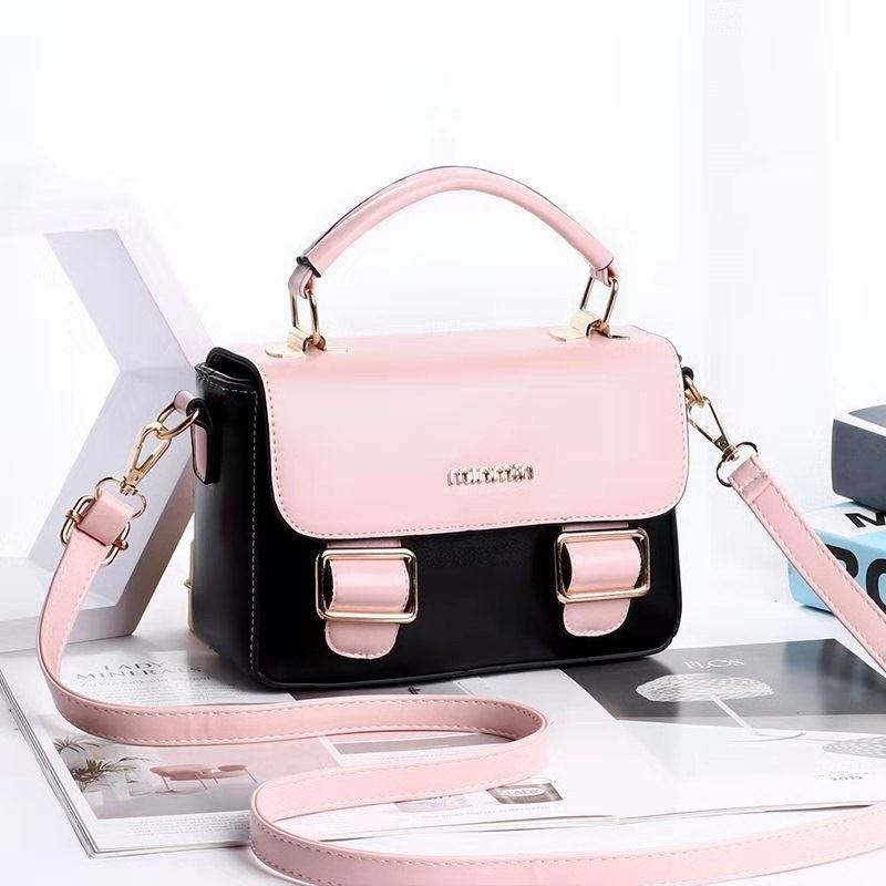 JT9021 IDR.165.000 MATERIAL PU SIZE L21XH13XW8CM WEIGHT 700GR COLOR BLACKPINK