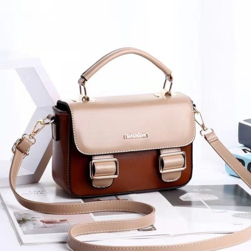 JT9021-brownkhaki Tas Handbag Cantik Modis Import Terbaru