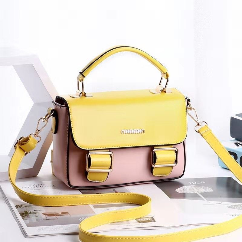 JT9021 IDR.165.000 MATERIAL PU SIZE L21XH13XW8CM WEIGHT 700GR COLOR PINKYELLOW