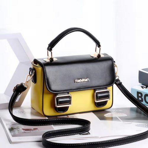 JT9021-yellowblack Tas Handbag Cantik Modis Import Terbaru