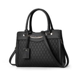 JT9028-black Tas Selempang Handbag Wanita Elegan Import