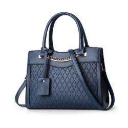 JT9028-blue Tas Selempang Handbag Wanita Elegan Import