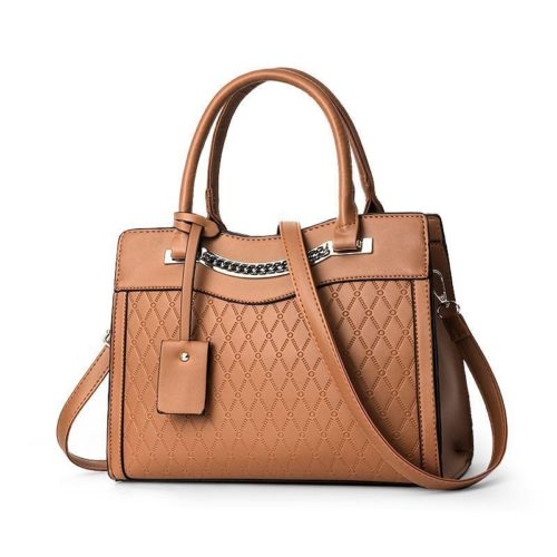 JT9028-brown Tas Selempang Handbag Wanita Elegan Import