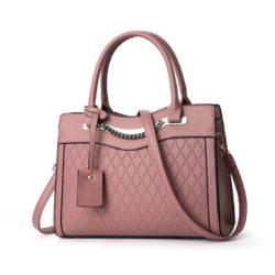 JT9028-darkpink Tas Selempang Handbag Wanita Elegan Import