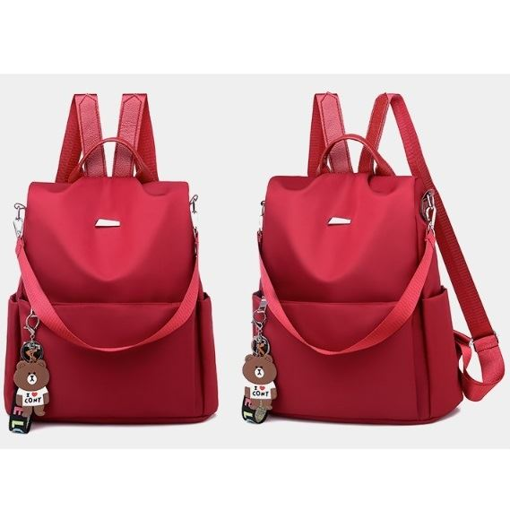 JT9035 IDR.152.000 MATERIAL OXFORD SIZE L31XH33XW13CM WEIGHT 550GR COLOR RED