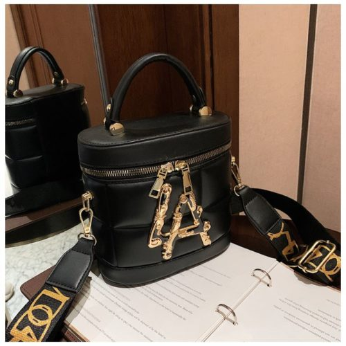 JT9036-black Tas Handbag Selempang Wanita Elegan Import
