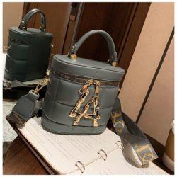 JT9036-gray Tas Handbag Selempang Wanita Elegan Import