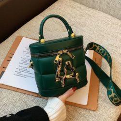 JT9036-green Tas Handbag Selempang Wanita Elegan Import
