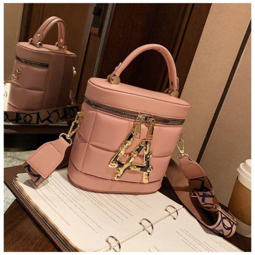 JT9036-pink Tas Handbag Selempang Wanita Elegan Import