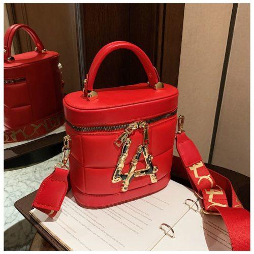 JT9036-red Tas Handbag Selempang Wanita Elegan Import