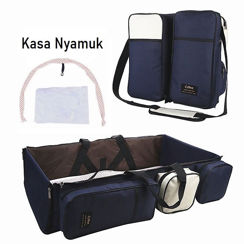 JT90373 IDR.245.000 MATERIAL OXFORD SIZE L78-99XH39XW20CM WEIGHT 700GR COLOR BLUE