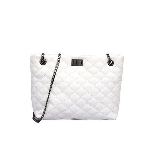 JT9042-white Tas Selempang Cantik Import Wanita Modis