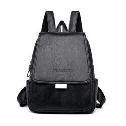 JT9058-black Tas Ransel Import Wanita Cantik Terbaru