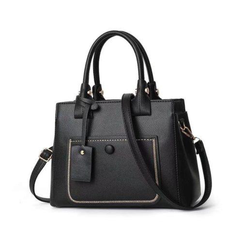 JT9061-black Tas Handbag Fashion Wanita Cantik Terbaru