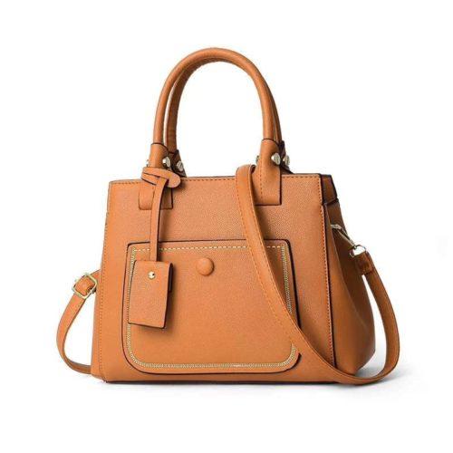 JT9061-brown Tas Handbag Fashion Wanita Cantik Terbaru