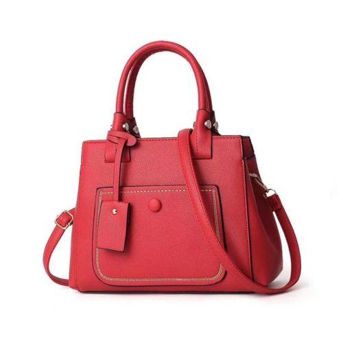 JT9061-red Tas Handbag Fashion Wanita Cantik Terbaru