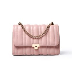 JT90630-pink Tas Selempang Clutch Wanita Cantik Elegan