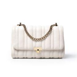 JT90630-white Tas Selempang Clutch Wanita Cantik Elegan
